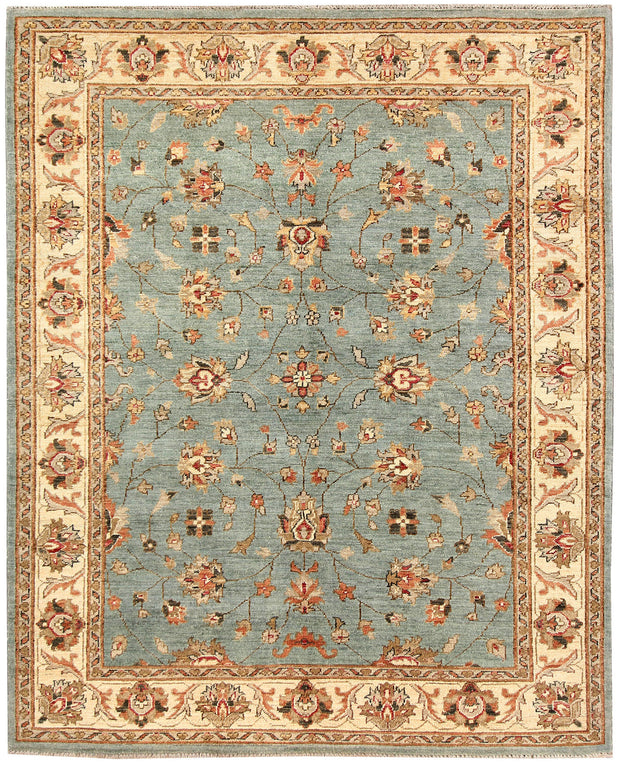 Teal Oushak 5' 1 x 6' 4 - No. 62857 - ALRUG Rug Store