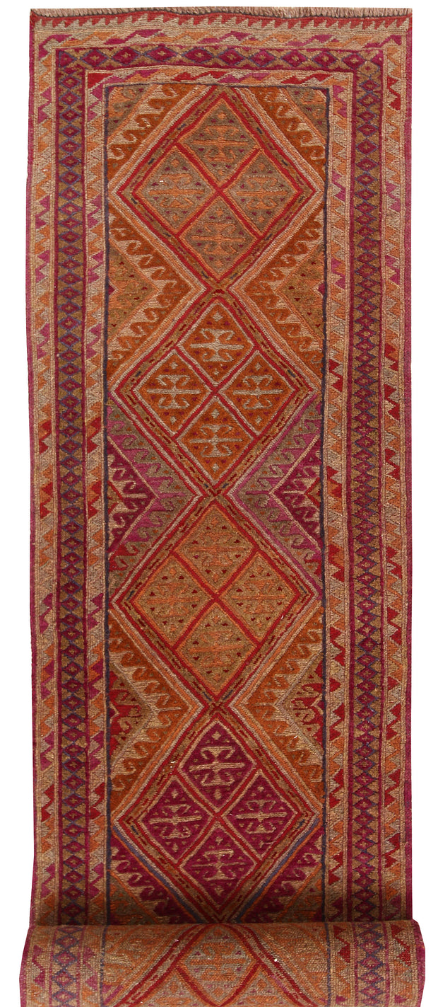 Multi Colored Mashwani 2' 5 x 13' - No. 63317 - ALRUG Rug Store