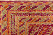 Multi Colored Mashwani 6' 8 x 9' 1 - No. 63387 - ALRUG Rug Store