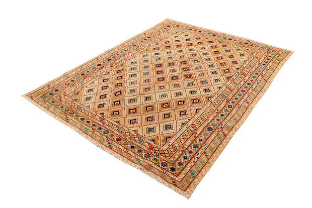 Multi Colored Mashwani 5' x 6' 6 - No. 63397 - ALRUG Rug Store