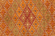 Multi Colored Mashwani 6' 4 x 9' 5 - No. 63410 - ALRUG Rug Store
