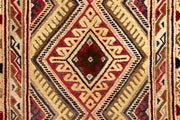 Multi Colored Mashwani 1' 11 x 6' - No. 63414 - ALRUG Rug Store