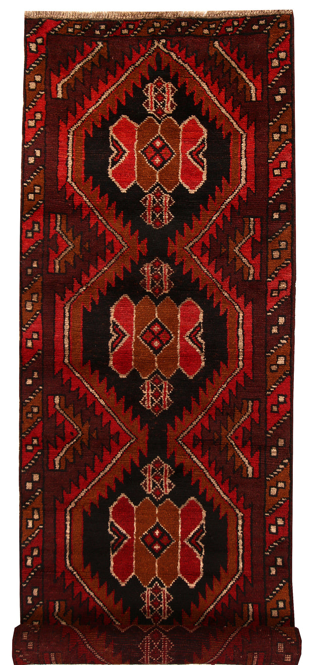 Saddle Brown Baluchi 2' 7 x 8' 6 - No. 63440 - ALRUG Rug Store