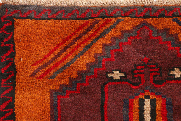 Sandy Brown Baluchi 2' 11 x 12' 4 - No. 63462 - ALRUG Rug Store