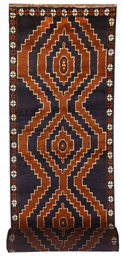 Multi Colored Baluchi 2' 9 x 12' 11 - No. 63463 - ALRUG Rug Store