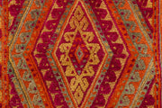 Multi Colored Mashwani 2' 9 x 12' 2 - No. 63501 - ALRUG Rug Store