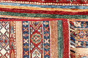 Multi Colored Kazak 2' 9 x 9' 10 - No. 63553 - ALRUG Rug Store