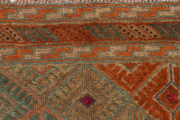 Multi Colored Mashwani 2' 5 x 12' - No. 63586 - ALRUG Rug Store
