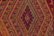 Multi Colored Mashwani 2' 9 x 12' 10 - No. 63589 - ALRUG Rug Store