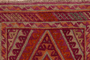 Multi Colored Mashwani 2' 7 x 12' 4 - No. 63609 - ALRUG Rug Store