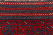 Dark Red Mashwani 2' 1 x 8' 6 - No. 63625 - ALRUG Rug Store
