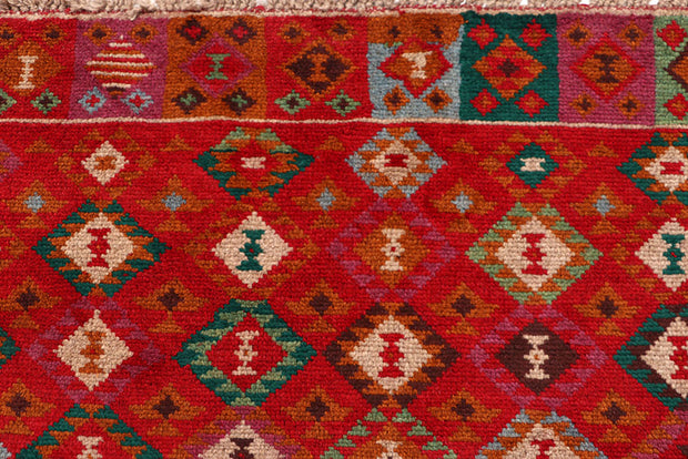 Orange Red Baluchi 3' 11 x 6' - No. 63970 - Alrug Rug Store