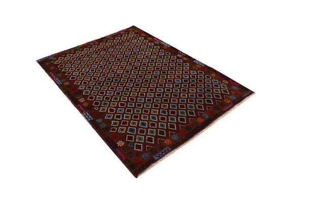 Saddle Brown Baluchi 4' 2 x 5' 10 - No. 64129