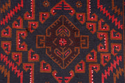 Light Slate Grey Baluchi 3' 7 x 6' 4 - No. 64315 - Alrug Rug Store