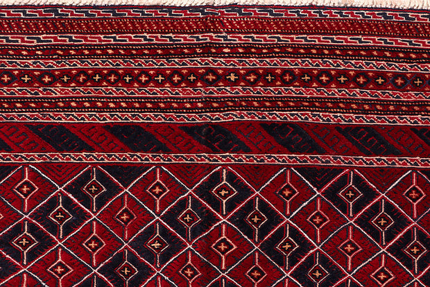 Multi Colored Mashwani 6' 7 x 9' 1 - No. 64408 - ALRUG Rug Store
