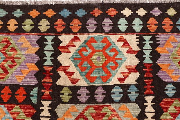 Multi Colored Kilim 6' 8 x 8' 1 - No. 64442 - ALRUG Rug Store