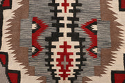 Multi Colored Kilim 6' 1 x 9' 6 - No. 64453 - ALRUG Rug Store