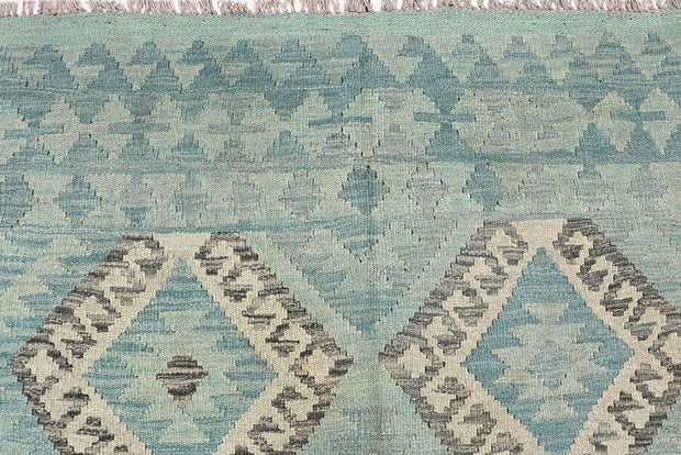 Multi Colored Kilim 6' 9 x 9' 9 - No. 64464 - Alrug Rug Store