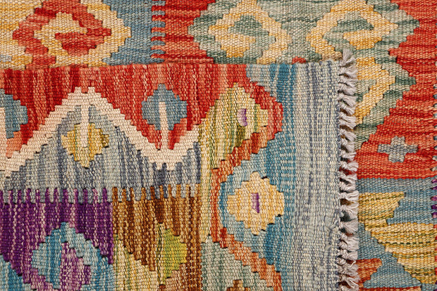 Multi Colored Kilim 6' 5 x 10' 3 - No. 64467 - ALRUG Rug Store