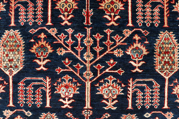 Dark Blue Kazak 5' 5 x 8' 1 - No. 64974