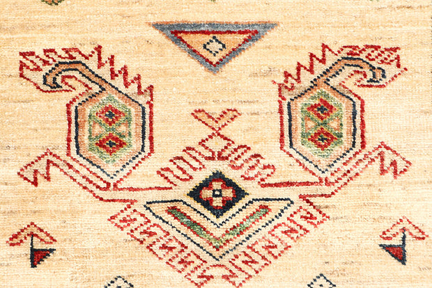 Blanched Almond Kazak 2' 7 x 8' - No. 65246 - ALRUG Rug Store
