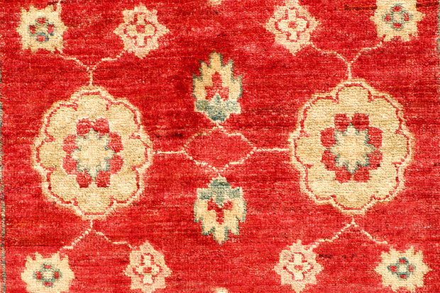 Red Oushak 2' 7 x 7' 10 - No. 65332 - ALRUG Rug Store