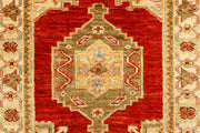Red Oushak 2' 9 x 7' 10 - No. 65512 - ALRUG Rug Store