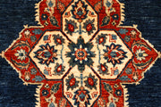 Midnight Blue Oushak 5' 1 x 6' 11 - No. 65702 - ALRUG Rug Store