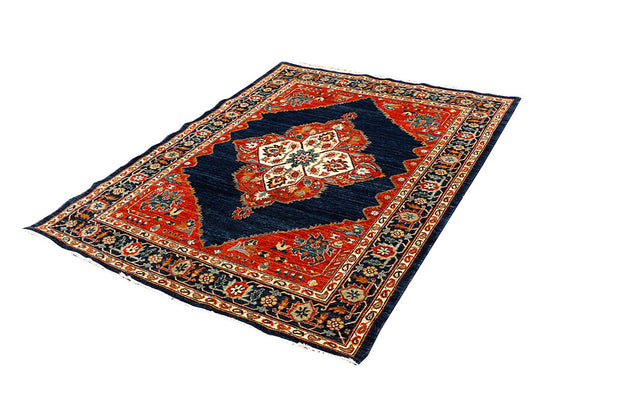 Midnight Blue Oushak 5' 1 x 6' 7 - No. 65706 - ALRUG Rug Store
