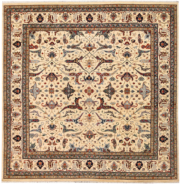 Blanched Almond Ziegler 9' 8 x 9' 9 - No. 65726 - ALRUG Rug Store
