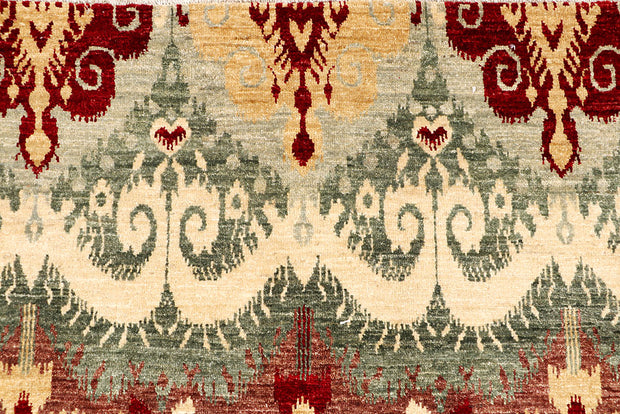Multi Colored Ikat 9' 11 x 13' 9 - No. 65739 - ALRUG Rug Store