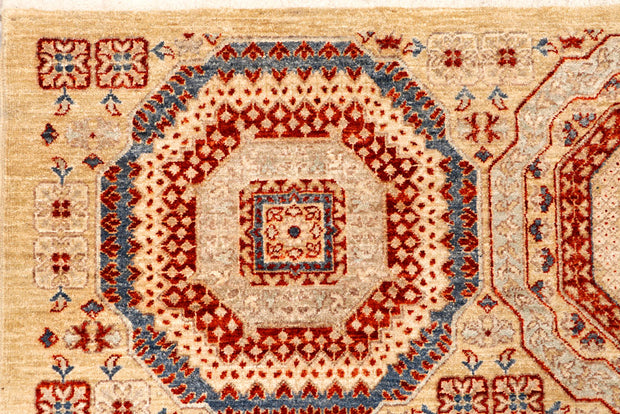 Blanched Almond Ikat 8' 6 x 11' 6 - No. 65741 - ALRUG Rug Store