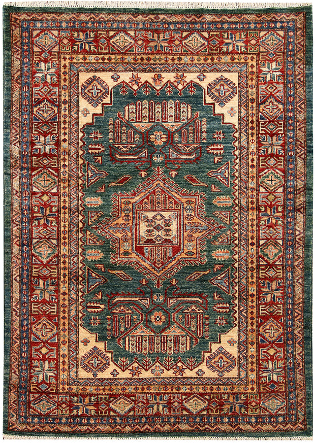 Sea Green Kazak 4' x 5' 7 - No. 65821