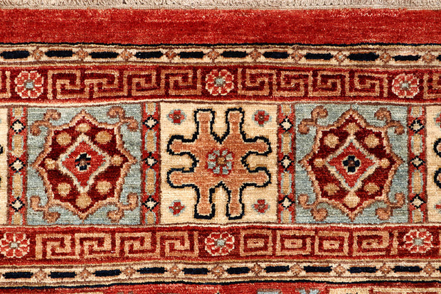 Multi Colored Ziegler 7' 7 x 10' - No. 65833 - ALRUG Rug Store