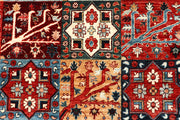 Multi Colored Ikat 8' x 9' 11 - No. 65841 - ALRUG Rug Store