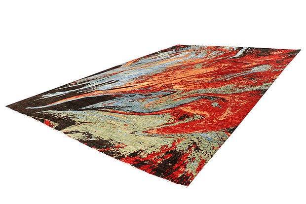 Multi Colored Abstract 11' 10 x 17' 9 - No. 65860 - ALRUG Rug Store