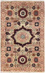 Blanched Almond Mamluk 3' 2 x 5' - No. 65883 - ALRUG Rug Store