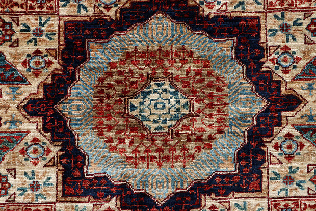 Floral White Mamluk 3' 3 x 4' 11 - No. 65920 - ALRUG Rug Store