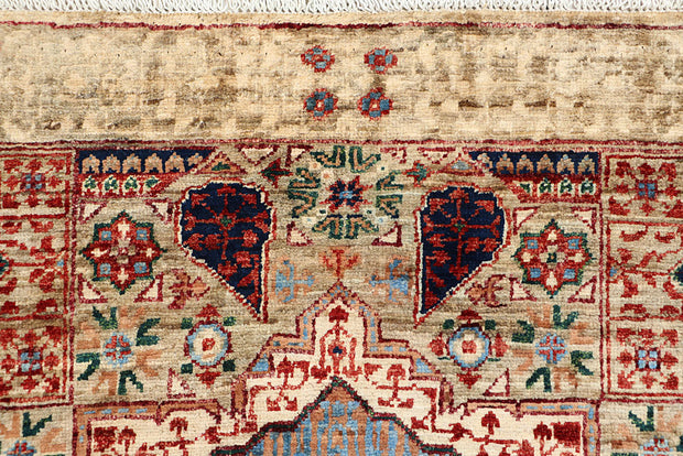Multi Colored Mamluk 3' 1 x 4' 11 - No. 65926 - ALRUG Rug Store
