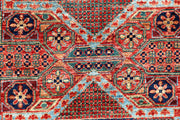 Multi Colored Mamluk 3' 3 x 4' 9 - No. 65950 - ALRUG Rug Store