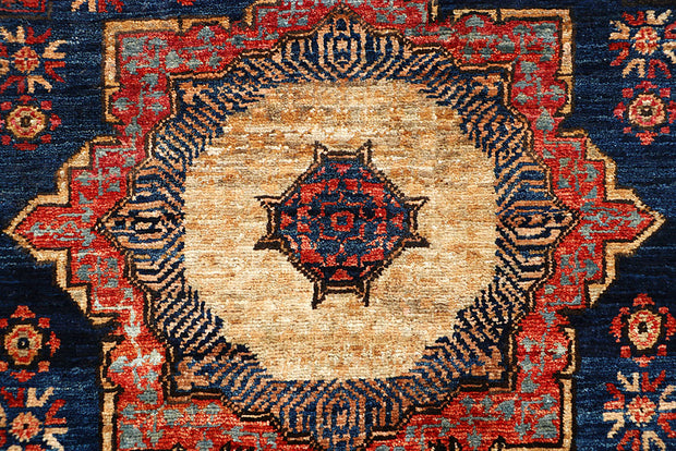 Midnight Blue Mamluk 2' 2 x 4' 9 - No. 65979 - ALRUG Rug Store