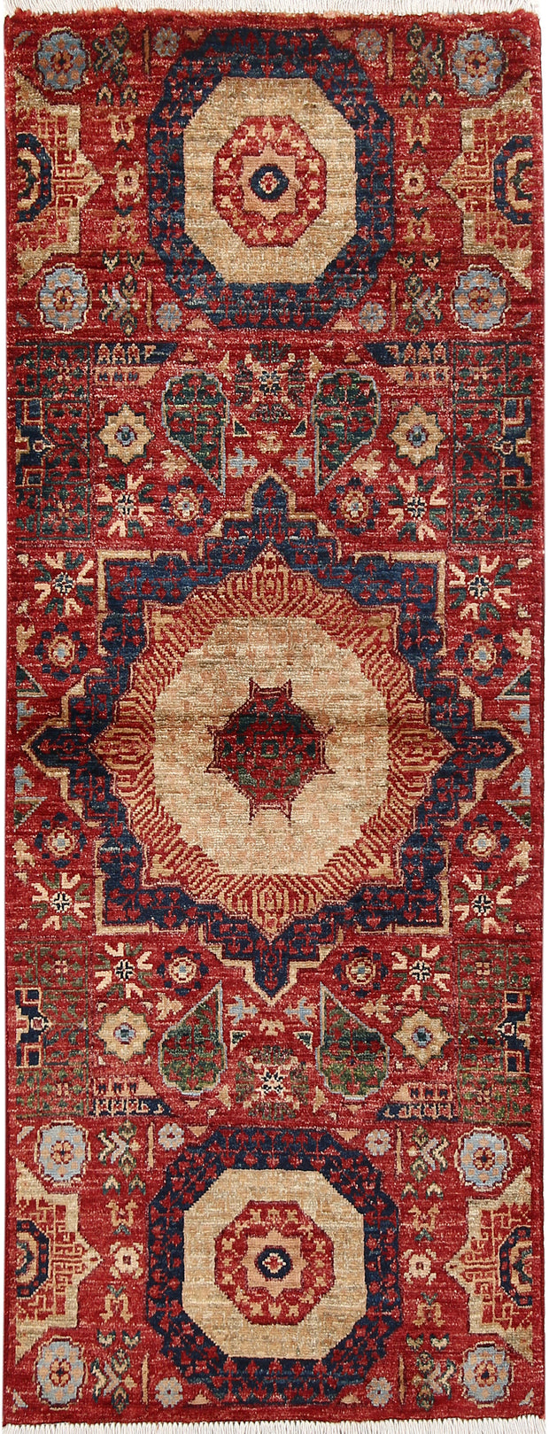 Brown Mamluk 1' 11 x 4' 8 - No. 66013 - ALRUG Rug Store