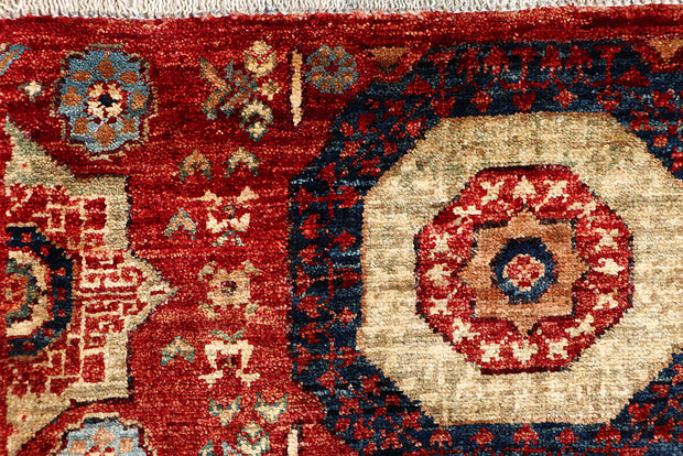 Brown Mamluk 2' 1 x 4' 9 - No. 66015 - ALRUG Rug Store