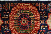 Midnight Blue Mamluk 1' 10 x 4' 10 - No. 66044 - ALRUG Rug Store