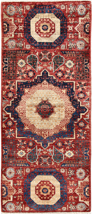 Brown Mamluk 2' x 4' 11 - No. 66046 - ALRUG Rug Store