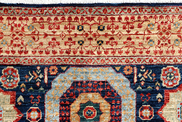 Midnight Blue Mamluk 4' x 5' 10 - No. 66082 - ALRUG Rug Store