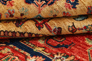 Orange Red Ziegler 5' 11 x 8' 10 - No. 66156 - ALRUG Rug Store