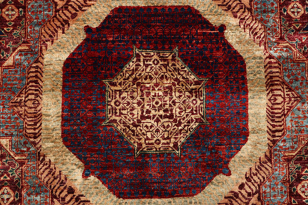 Multi Colored Mamluk 7' 9 x 10' - No. 66172 - ALRUG Rug Store