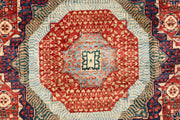 Dark Red Mamluk 5' 11 x 9' 1 - No. 66183 - ALRUG Rug Store