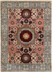 Blanched Almond Mamluk 4' 11 x 6' 9 - No. 66191 - ALRUG Rug Store